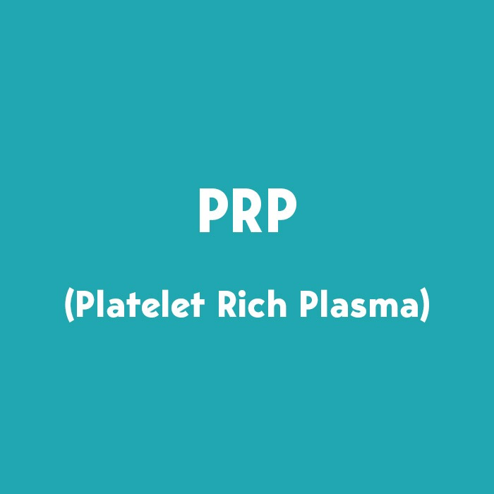 μέθοδος - θεραπεία prp